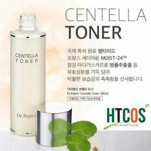 Nước hoa hồng Centella Toner Dr.Pepti+ 180ml Hàn Quốc giá thế nào