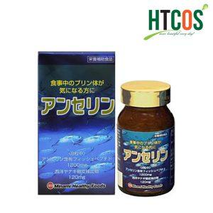 Hỗ trợ xương khớp Viên hỗ trợ trị gout Anserine Minami Healthy Foods 240v Nhật