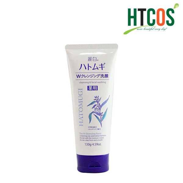Sữa Rửa Mặt Hatomugi Cleansing Facial Washing 130gr Nhật Bản
