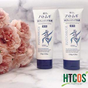 Sữa Rửa Mặt Trắng Da Hatomugi Cleansing And Facial Washing 130g hiệu quả ra sao
