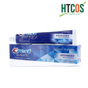 Kem Đánh Răng Crest 3D White Advanced Whitening 170gr chính hãng