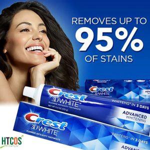 Kem Đánh Răng Crest 3D White Advanced Whitening 170gr