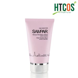 Mặt nạ thu nhỏ lỗ chân lông, thanh lọc & làm da sáng mịn Sampar Clear Solution Mask cos tốt không