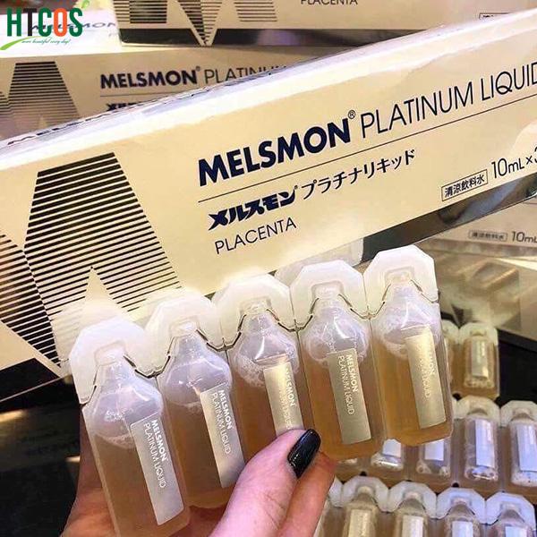 trungtamgiasi.vn– Nước Uống Nhau Thai Ngựa Melsmon Platinum Liquid Placenta  10ml x 30 ống
