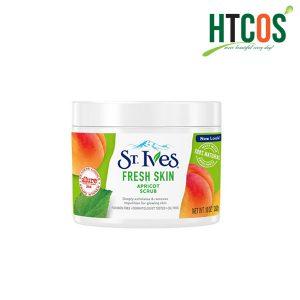 review tẩy da chết st.ives fresh skin apricot scrub