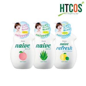 Sữa tắm Naive Kracie 530ml Nhật bản chất lượng ra sao