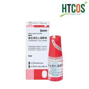 Thuốc nhỏ mắt Sancoba 5ml Nhật Bản, giảm mỏi mắt giá tốt không