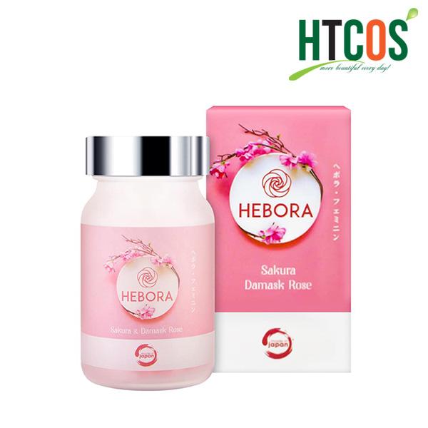 (Viên Uống Hàm Hương Hebora Sakura Damask Rose 60V) chính hãng
