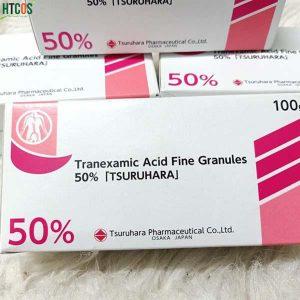 Bột trị nám trắng da Tranexamic Acid 50% Tsuruhara 100g - Chất lượng cao cấp, giúp hấp thu tốt và hiệu quả cao