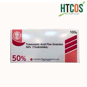 Thực phẩm chức năng Bột trị nám trắng da Tranexamic Acid 50% Tsuruhara 100g