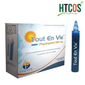 Dung Dịch Uống Tảo Biển Vitamin C Tout En Vie 10ml Pháp