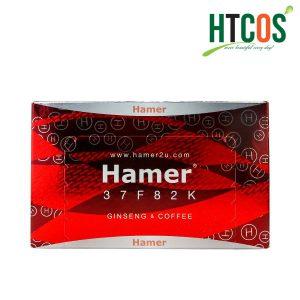 Kẹo Sâm Cho Nam Giới Hamer Ginseng & Coffee, 30 viên