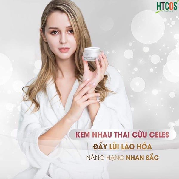 Set Dưỡng Da Mini Nhau Thai Cừu Celes Premium Placentary