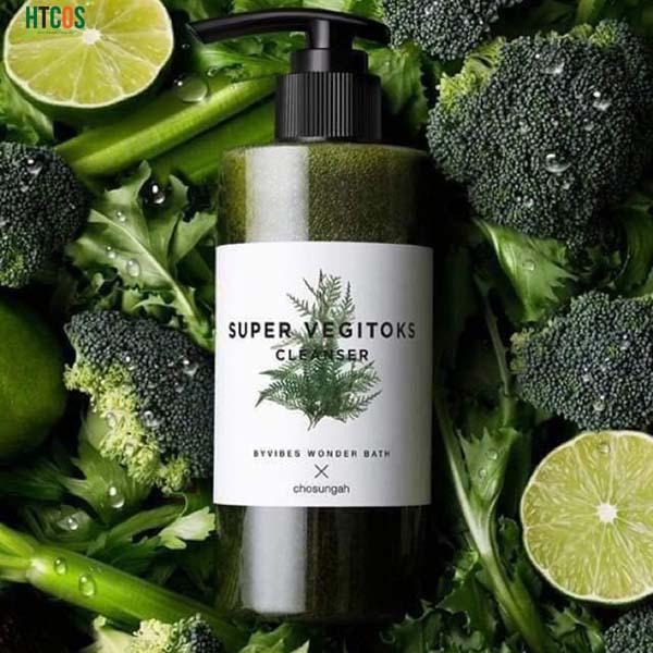 Sữa rửa mặt rau củ Super Vegitoks có tốt không?
