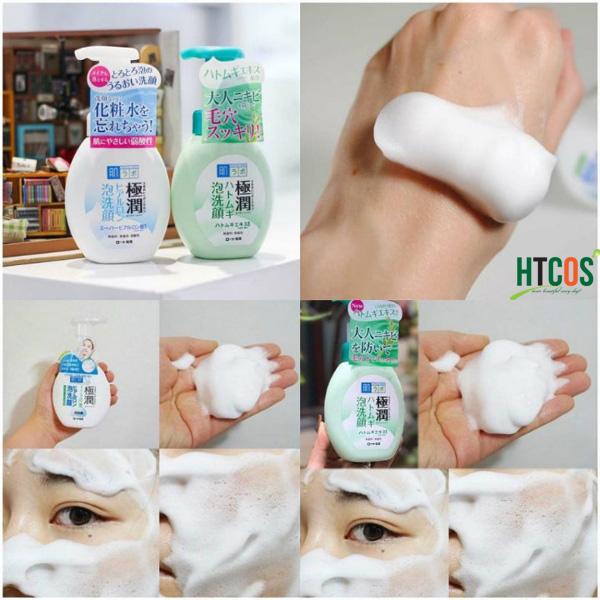 Sữa rửa mặt tạo bọt Hada Labo Gokujyun Foaming Cleanser có tốt không