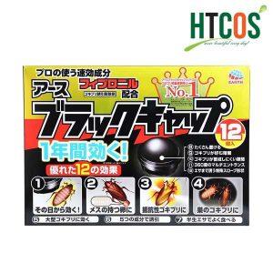 Thuốc diệt gián Nhật Bản Barrack Cap hộp 12 viên không độc hại tác dụng trong 06 tháng