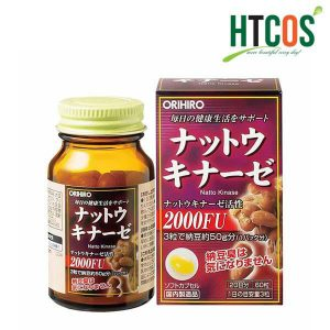Thuốc chống đột quỵ nhật bản orihiro Nattokinase 2000FU