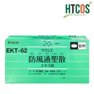 Viên Tiêu Mỡ Kracie Hofutsu Shousan EKT-62 Nhật Bản Hộp 378 Viên