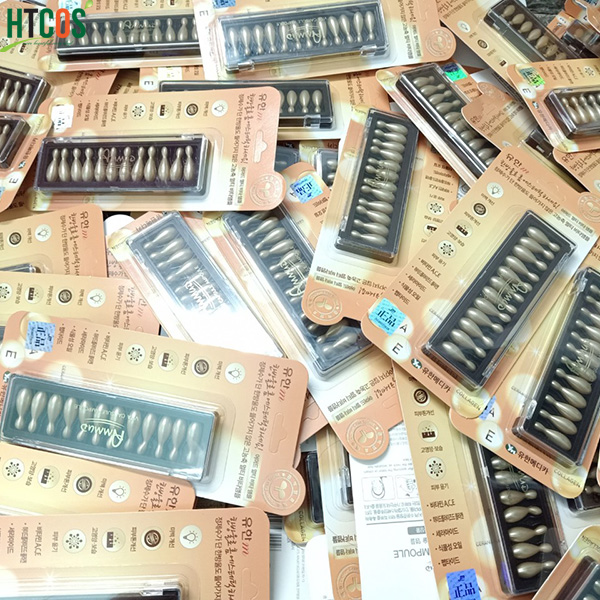 Viên Collagen tươi Ammud Multi Vita Ampoule set 12 Hàn Quốc - Cải thiện nếp nhăn, trẻ hóa da mua ở đâu