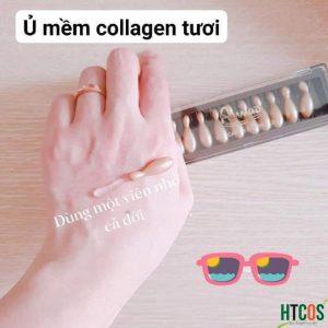 Viên Collagen tươi Ammud Multi Vita Ampoule set 12 Hàn Quốc - Cải thiện nếp nhăn, trẻ hóa da, có tốt không