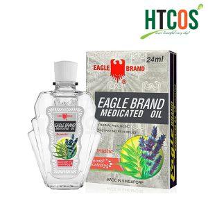 Dầu gió trắng Mỹ Eagle Brand Medicated Oil 24ml