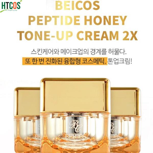 Công dụng sản phẩm Beicos Peptide Honey Tone Up Cream