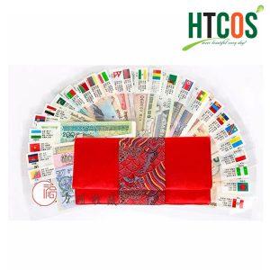 Set tiền lì xì tết 28 quốc gia (52 tờ tiền thật 100%)