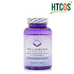 Viên Uống Trắng Da Relumins Advance White Glutathione Complex (1650mg x 90 Viên)