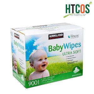 Khăn Giấy Ướt Kirkland Signature Baby Wipes Ultra Soft Thùng 900 Tờ giá tốt nhất