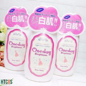 Lotion dưỡng trắng da Oneday Brightener 120ml Nhật Bản - one day rẻ không