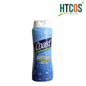 (532ml - 946ml) Sữa tắm gội cho Nam Coast Hair & Body Wash Classic Scent của Mỹ