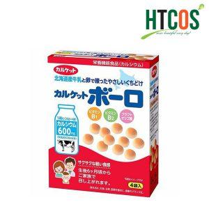 Bánh Men Sữa Bò Calket Boro 80gr Nhật Bản