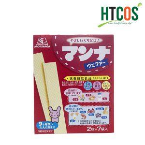 Bánh Xốp Ăn Dặm Vị Sữa Morinaga 14 Cái Nhật Bản