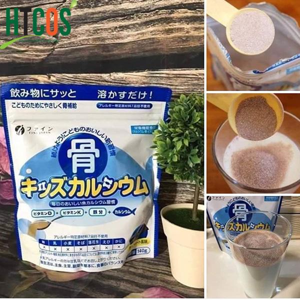 Bột Canxi Cá Tuyết Cho Trẻ Em Fine Japan 140gr Nhật Bản có tốt không