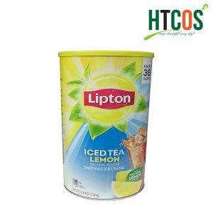 Bột Trà Chanh Lipton Iced Tea Lemon 2.54kg Mỹ