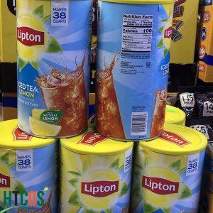 Bột Trà Chanh Lipton Iced Tea Lemon 2.54kg Mỹ mua ở đâu