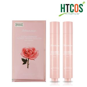 Hộp 2 Thanh Lăn Mắt JM Solution Glow Luminous Flower Firming Roll On Eye Cream 15ml x 2 Hàn Quốc