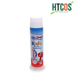 Kem Đánh Răng Trẻ Em Aquafresh Kids Cavity Protection Bubble Mint