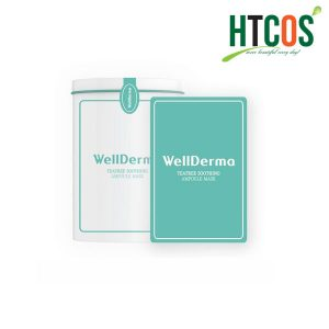 Mặt Nạ Giấy Wellderma Teatree Soothing Ampoule Mask Hàn Quốc