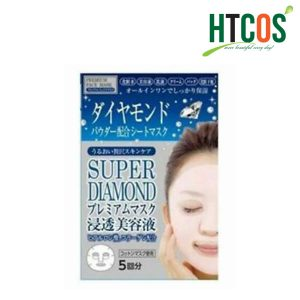 Mặt Nạ Kim Cương Super Diamond Premium Face Mask Nhật Bản