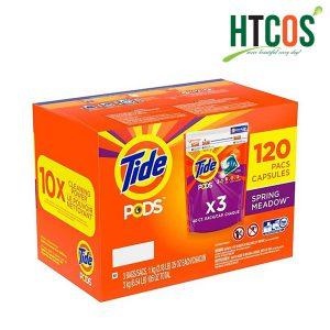 Thùng Viên Giặt Tide Pods 3in1 120 Viên Mỹ