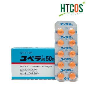 Viên Uống Bổ Sung Vitamin E Juvela 50mg 100 Viên Nhật Bản