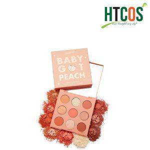 Bảng Phấn Mắt 9 Ô Colourpop Baby Got Peach Eyeshadow Palettes Mỹ