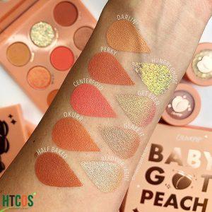 Bảng Phấn Mắt 9 Ô Colourpop Baby Got Peach Eyeshadow Palettes Mỹ tốt không