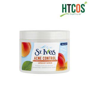 Kem Tẩy Tế Bào Chết Toàn Thân St.Ives Acne Control Apricot Scrub 283gr Mỹ