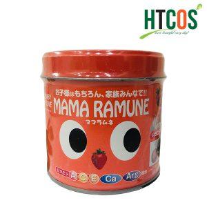 Kẹo Dành Cho Trẻ Biếng Ăn Vị Dâu Mama Ramune 200 Viên Nhật Bản