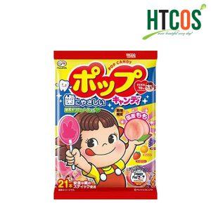 Kẹo Mút Trái Cây Vị Đào Fujiya Pop Candy Nhật Bản