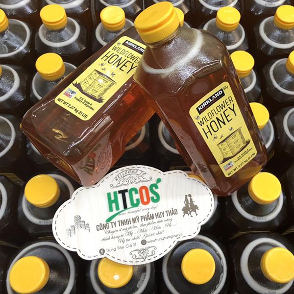 Mật Ong Kirkland Signature Wild Flower Honey 2.27kg Mỹ có tốt không