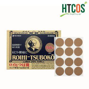 Miếng Dán Huyệt Đạo Giảm Đau Roihi Tsuboko 156 Miếng Nhật Bản