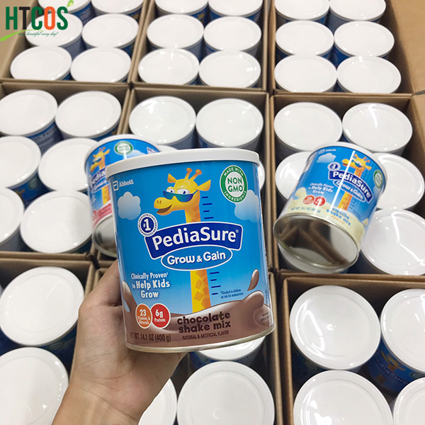 Sữa Bột Pediasure Grow&Gain Shake Mix Hộp 400gr Mỹ cho bé